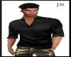 [JR] Stylish Silk Black