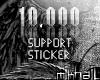 mik™10k Support|Sticker