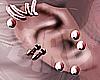"""""""Rose Gold Earrings"""""""