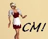 CM! Little red dress