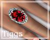 ~TR~ Lisha Ruby Ring