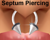 Silver Septum Piercing