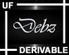 UF Debz Wall Sign
