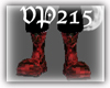 Blood-Splattered Boots-M