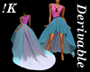 !K!Delure RedCarpet Gown