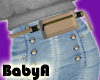 ! BA RLS Taupe Belt Bag
