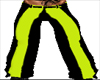 black lime green
