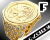 [LF] Gold Sovereign Ring