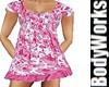 Little Girls Pink Ruffle