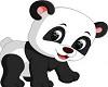 Wall picture Panda