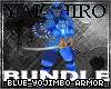Blue Yojimbo Armor