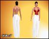 D- Sexy Suit Wh/R XXL