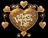 (V) Valentine Heart Gold