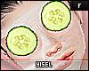 Y. Cucumber Eye Mask Mom