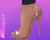 𝓔. Nude Shoes