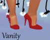 Red Roses Pumps