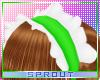 ⓢ Maid Headband Lime