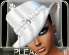 *PW*Heaven PVC Hat White