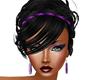 Black Updo with headband