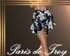 PdT B&W Scarf Skirt