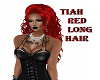 TIAH/RED/LONG/HAIR