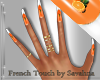"""SAV"" MILLY ORANGE NAILS"