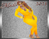 !a Yellow Mango Pantsuit