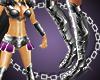 [bi]Silver Warrior boots