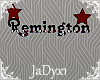 Remington Name Sign 1