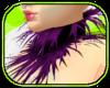 Flutter Pink Fur Collar