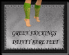 [FCS] Green Stockings