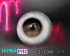 Two Tone Eye\\ D.Brown