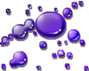 Purple Paint Splatters