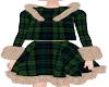 Kids-Green Plaid Dress