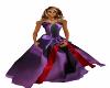 Purple & Red Wedding