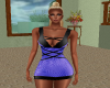 Sharona Light Blue Dress