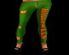 Halloween Leggings Green