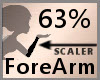 63% ForeArm Scaler F A