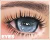 sparkly blue eyes