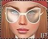Cream Fall Sunglasses