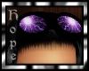 Purple Lightning Goggles