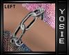 ~Y~Chain Bracelet Left