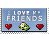 I heart my friends