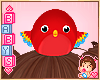 ✿ Kids Parrot on Head