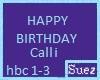 Happy B-day Calli