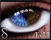 -S- Heterochromia Blue