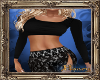PHV Cropped Sweater Blk