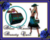 Blue Waves Beautycase