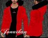 [ JM ] Jacket  M/ Red