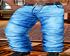 Wolf Belted Jean